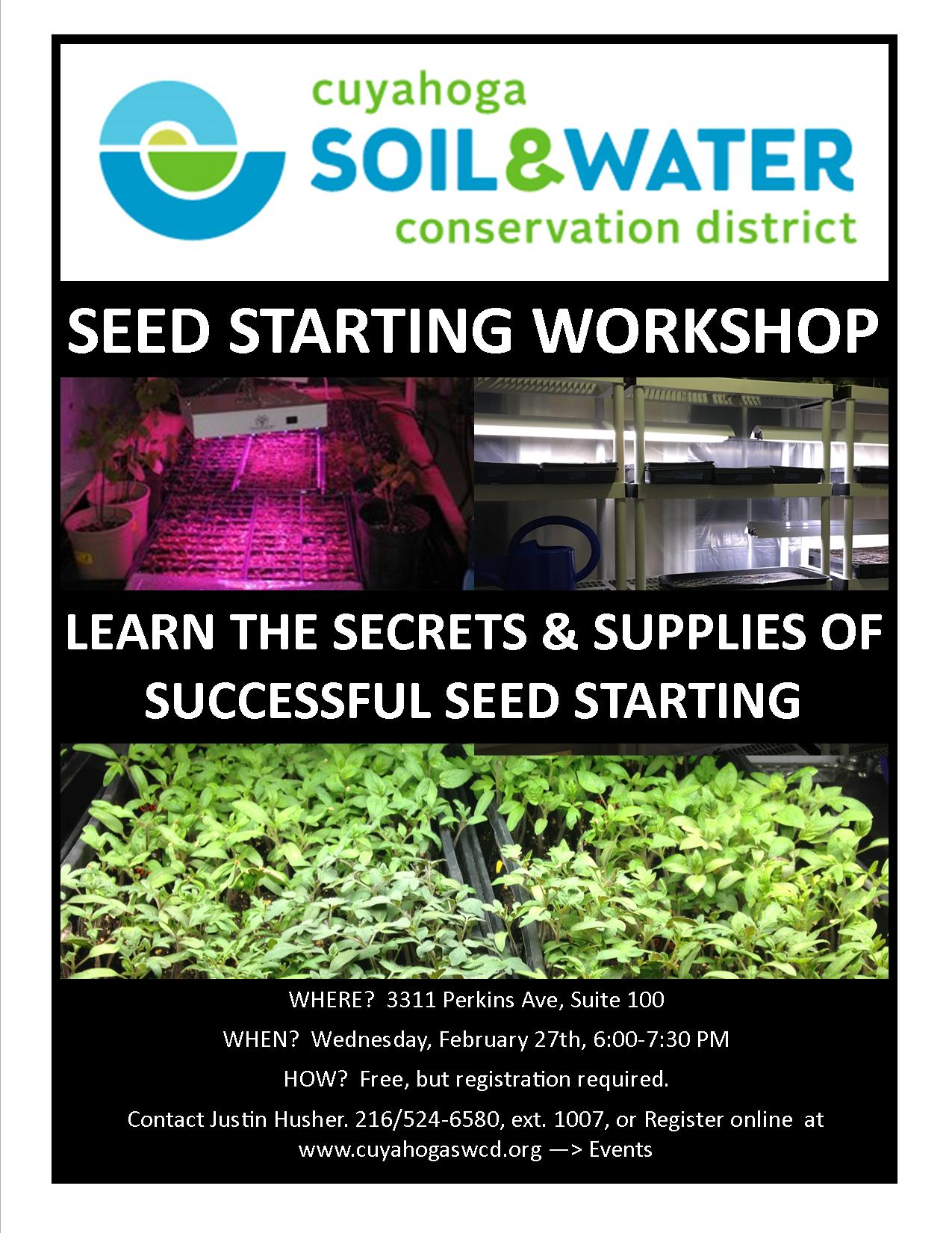 Seed Starting Flyer 2-27-19